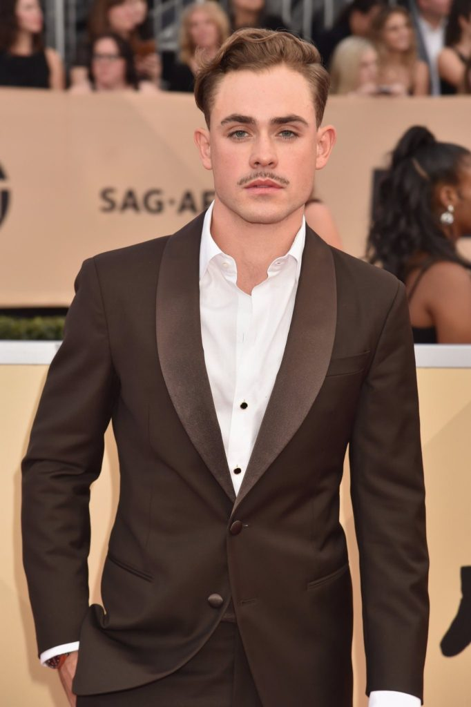 Dacre Montgomery hairstyle