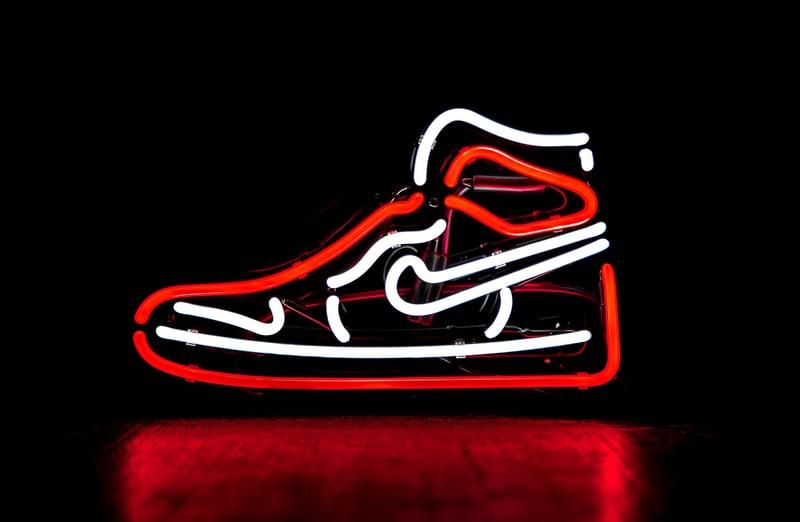 nike nice shoes of a cheap shoe brand